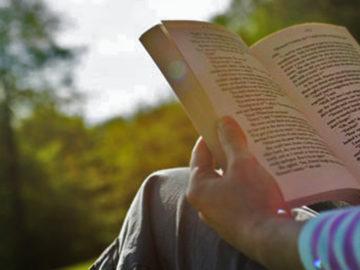 Reading at Kausani