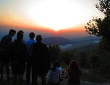 Sunset view from Himalaya Darshan Resort