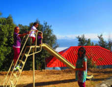 Kids play area at Himalaya Darshan Resort