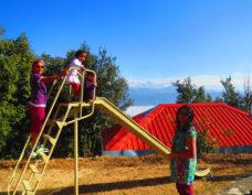 Kids play area at Himalaya Darshan Resort